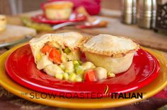 The Slow Roasted Italian: Mini Chicken Pot Pies