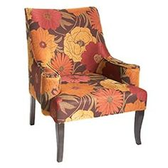 Love This Chair! Even More Gorgeous In Person. | For The Home | Pinterest | Floral  Chair, Armchairs And Bald Hairstyles