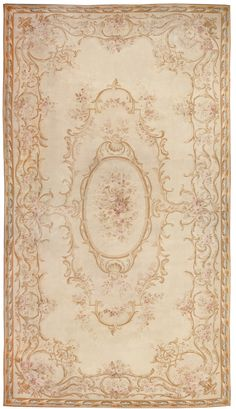 Modern, Chinese Aubusson Rug