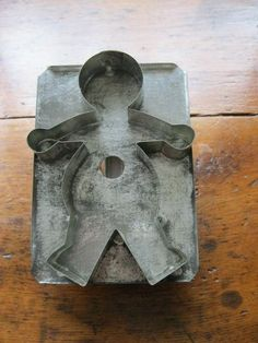 Antique Tin Gingerbread Cookie Cutter | eBay m