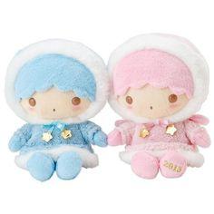 SANRIO Little Twin Stars Winter Plush dool 2013 L from Japan