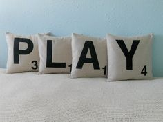 """This would be so cute for a kids play room. It'd also be cute to have a """"READ"""" one for a reading nook."""