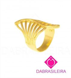 Anel Leque Vazado #rings #dabrasileira