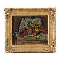 Edgar Yaeger Oil on Canvas Still Life
