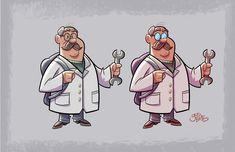 ArtStation - Darwin (Cartoon Show character design), Gus Batts
