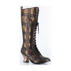 Steampunk Shoes and Boot:s Hades Metropolis