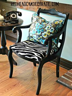 New Sew Pillow Redheadcandecorate.com
