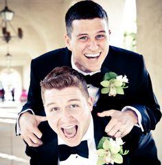 Exstatic Grooms  #gaylove gaymarriage #gaywedding
