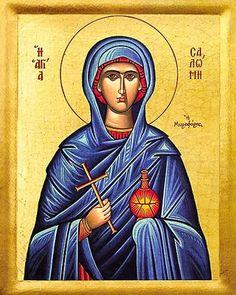 St. Salome the Myrrh Bearer