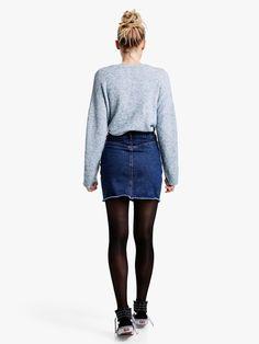 Devi skirt | | Sininen | BikBok | Suomi
