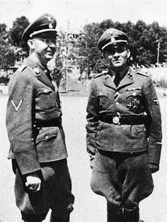 """The Destruction of the Hungarian Jews http://www.HolocaustResearchProject.org Himmler & Hoss. Along with Eichmann and Heydrich, these four men (after the decision to move from the Einsatzgruppen to the more organized and efficient death camps in Poland), probably bear more hands-on credit for the Holocaust than any other. Add to these four strategists the propaganda of Geobbels and """"Der Sturmer"""", and you have the Holocaust, being carried out by low-ranking Sergeants and Corporals, some"""