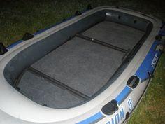 Intex excursion 4 intex inflatable boats pinterest for Wood floor intex excursion 5