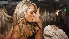 Girls Kissing Girls - A Humble 52 Photo Tribute