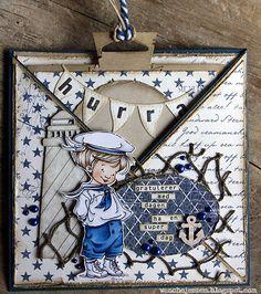 handmade card, Hobby House Topper, Sailor Crew