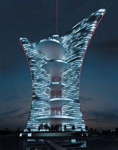 El palacio de luz de Pierre Cardin