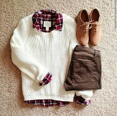 Winter Outfit Ideas With Sweater Weather Celebrity Fashion Outfit Trends And Beauty Tips Cute Winter Outfits, Fall Outfits, Casual Outfits, Fashionable Outfits, Look Fashion, Teen Fashion, Womens Fashion, Fashion Trends, Fashion Clothes