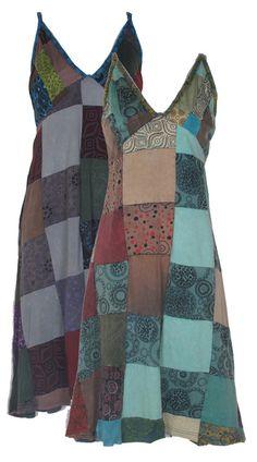 Penny Lane Patchwork Dress | Patchwork Dress | Hippie Dress - Hip Mountain Mama
