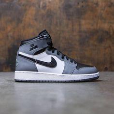 Jordan Big Kids Air Jordan 1 Retro High (GS) (cool grey / cool grey-white-black)
