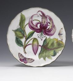 A good Chelsea 'Hans Sloane' plate circa 1755