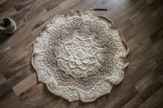 Mandala Madness - Free Pattern on Ravelry ... This one is by M. Eger