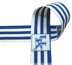 """University of Kentucky - 1"""""""" Collegiate Ribbon Licensed - 3 Yards Grosgrain Ribbon on Etsy, $5.50"""