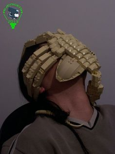 Alien face hugger made out of Lego!