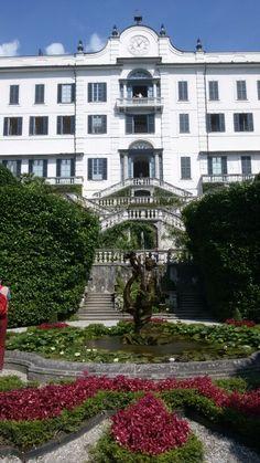 Villa Carlotta (la facciata)