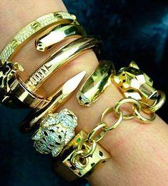 Golden Designer Stacking ♥✤ | Keep the Glamour | BeStayBeautiful