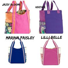 Vera Bradley Colorblock Tote NWT 4 color choices. Starting at $28