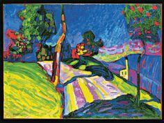 Wassily Kandinsky, Murnau – Kohlgruberstrasse