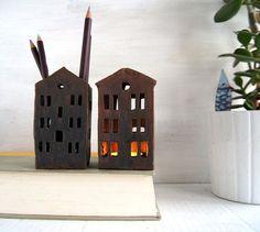 Büro-Dekor-Bleistift-Halter-Keramik-Ready To Ship