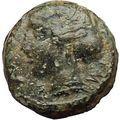 HIMERA Sicily 420BC Ancient Rare Greek Coin Nymph & LAUREL WREATH i29762