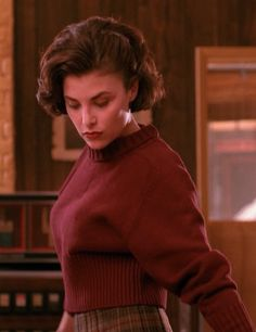 And once more, Audrey Horne, Twin Peaks. 50s via 80s.  So good we named our cat Audrey (and partly for Little Shop of Horrors).
