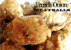 Slow Cooker French Onion Meatballs Recipe- only takes 2 ingredients! Makes a gre… Slow Cooker French Onion Meatballs Recipe- only takes 2 ingredients! Makes a great appetizer or throw them on small rolls for Meatball Sliders! Crockpot Dishes, Crock Pot Slow Cooker, Crock Pot Cooking, Beef Dishes, Slow Cooker Recipes, Food Dishes, Crockpot Recipes, Cooking Recipes, Crockpot Lunch