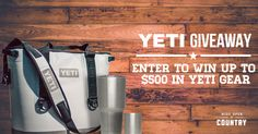 Enter the Wide Open Country $500 YETI Giveaway!Enter the @wideopencountry $500 @YETI Giveaway!  http://virl.io/LTrtbeOO