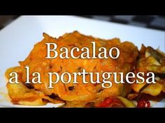BACALAO A LA PORTUGUESA- Receta fácil - YouTube