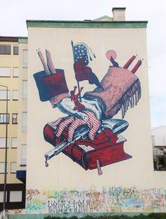 Extraordinary Street Art of the Azores http://RoarLoud.net