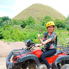 Driving wrecklessly as possible. Chocolate Hills, Bohol, Atv, Insta Pic, Playground, Philippines, Adventure, Photography, Instagram