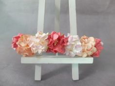 wedding flower crown - floral headpiece - flower headband - bridal crown - wedding girl crown - flower hair wreath