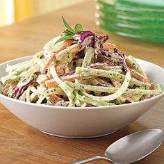 Green Goddess Slaw | MyRecipes.com