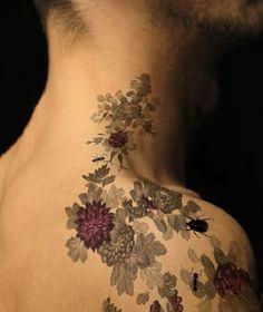 vintage flower tattoo - Google Search