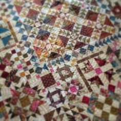 Laundry Basket Quilt of the Day - Farmers Market. #quiltoftheday…