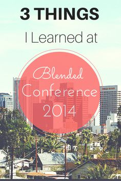 Blogging Lessons Learned from Blended Conference 2014