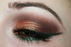 ! Enchanted Makeup: Sleek Garden of Eden Palette Look!
