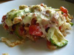 Zapiekanka makaronowa z kurczakiem i serem Feta - Przepisy kulinarne - Dania główne