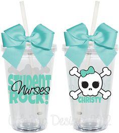 STUDENT Nurses  Rock Nursing Student 16oz by LylaBugDesigns, $15.00