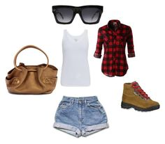 Summer Fun by shirley-hall-rodriguez on Polyvore featuring Majestic, LE3NO, Vasque, Cole Haan and CÉLINE