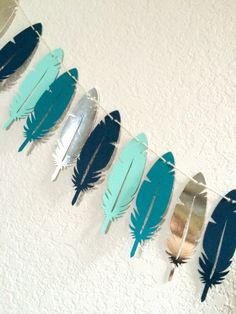 Garland tribales vivero Decor decoración cuarto por LePaperdashery