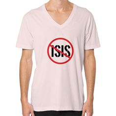 Defeat ISIS Men's V-Neck