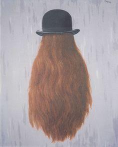 René Magritte, Le Pan de nuit (The patch of night), 1965.